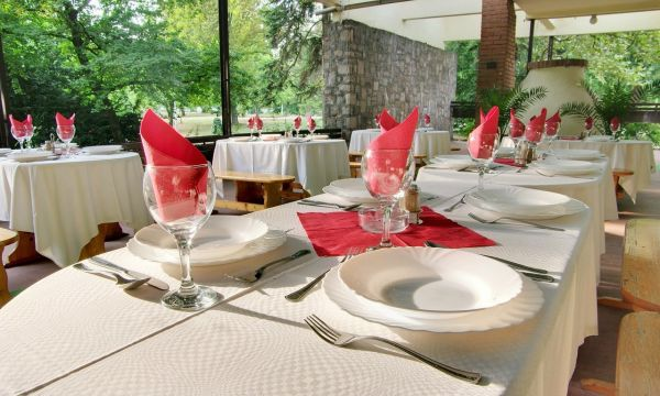 Park Hotel - Gyula - Étterem terasz