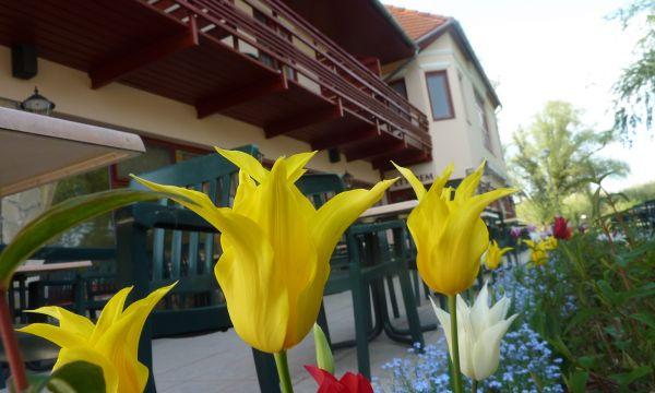 Zsanett Hotel - Balatonkeresztúr - május 1