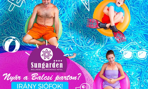 SunGarden Wellness & Conference Hotel - Siófok - 36