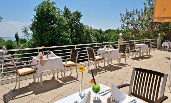 Hunguest Hotel Bál Resort - Balatonalmádi - A szálloda terasza
