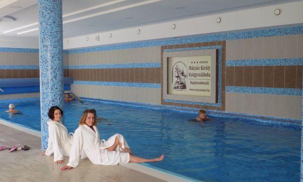 Mátyás Király Gyógy- és Wellness Hotel - Hajdúszoboszló - Beltéri medence