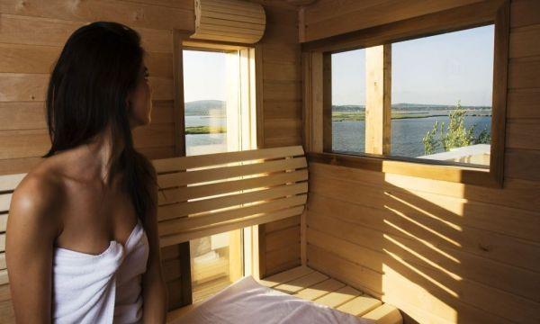 Vital Hotel Nautis - Gárdony - lakosztály szauna
