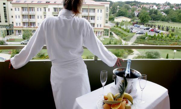 Hotel Karos Spa - Zalakaros - Kilátás a teraszról
