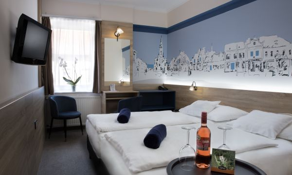 Hotel Írottkő - Kőszeg - Design kétágyas szoba