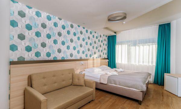 Kristály Hotel - Keszthely - Deluxe felújított szoba khúzható kanapéval