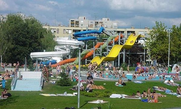 Hotel Claudius - Szombathely - Tófürdő csúszda