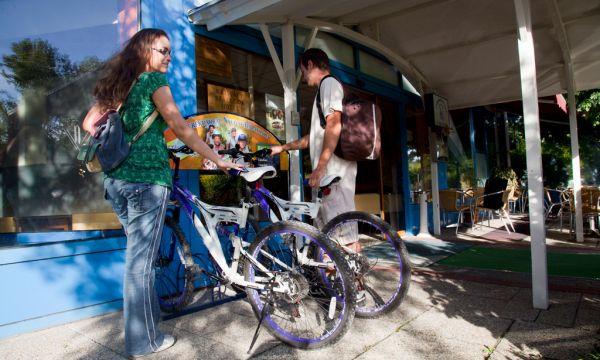 Kristály Hotel - Keszthely - kerékpárkölcsönzés