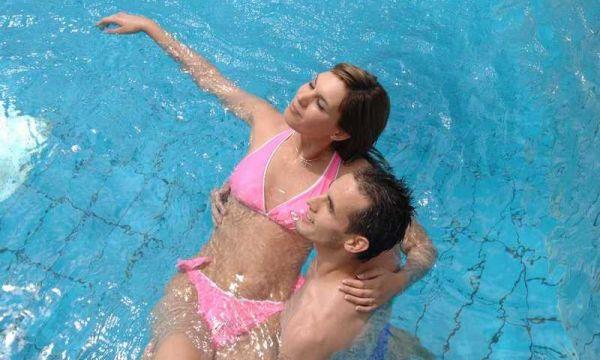 Hunguest Hotel Pelion - Tapolca - Kültéri medence, wellness