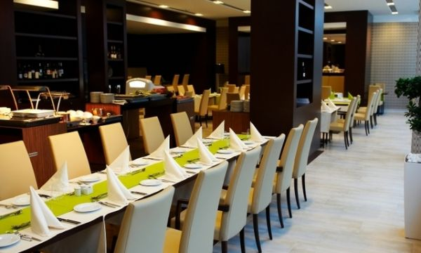 Abacus Business & Wellness Hotel - Herceghalom - Étterem