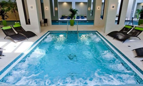 Abacus Business & Wellness Hotel - Herceghalom - Wellness pezsgőfürdő