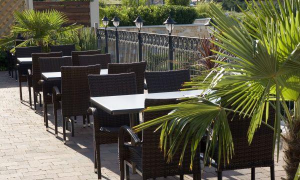 Zenit Hotel Balaton - Vonyarcvashegy - Étterem terasz