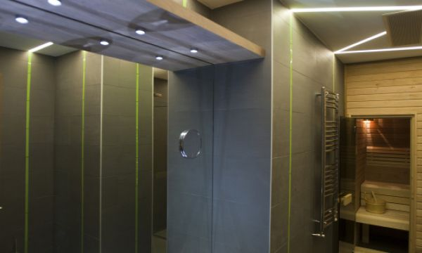 Vital Hotel Nautis - Gárdony - Luxus lakosztály fürdőszoba szaunával