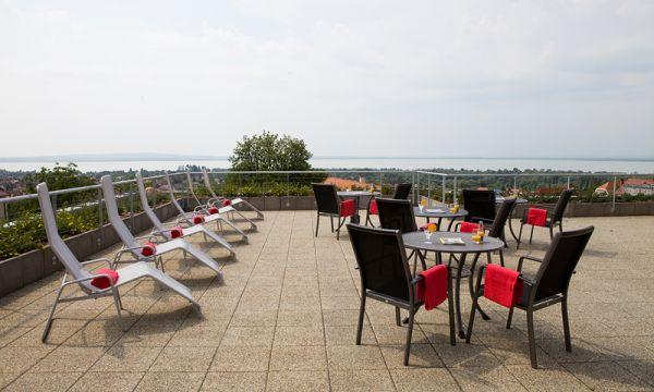Zenit Hotel Balaton - Vonyarcvashegy - Wellness terasz