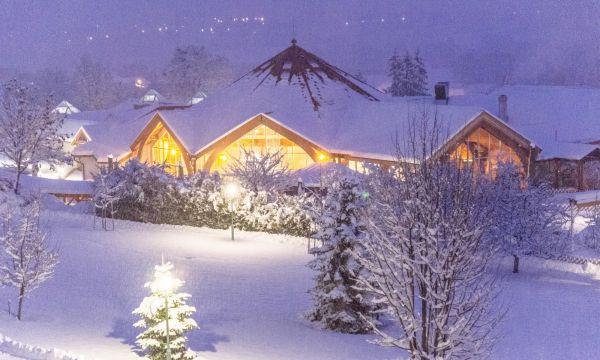 Kolping Hotel Spa & Family Resort - Alsópáhok - Téli látkép