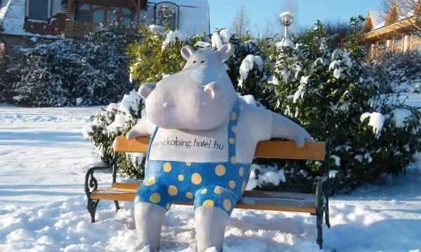 Kolping Hotel Spa & Family Resort - Alsópáhok - Bobóország télen is vár