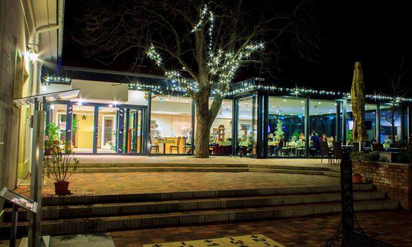 Zenit Hotel Balaton - Vonyarcvashegy - Étterem terasz télen
