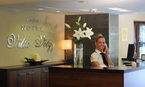 Hotel Villa Völgy - Eger - Design Deluxe épület, RECEPCIÓ