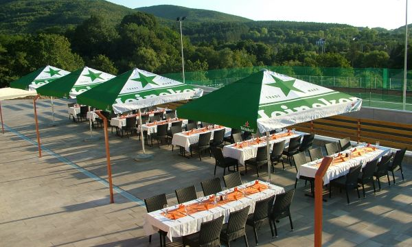 Szalajka Liget Hotel - Szilvásvárad - Grill terasz