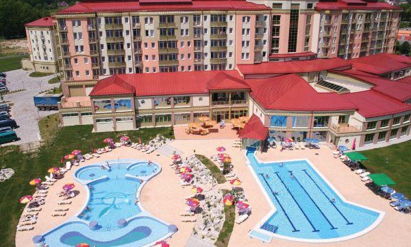 Hotel Karos Spa - Zalakaros - Kültéri medencék a magasból