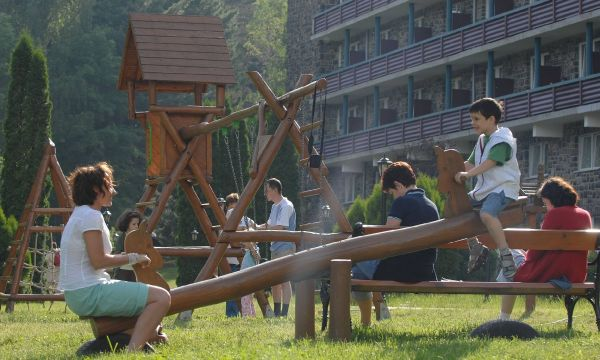 Hunguest Grandhotel Galya - Galyatető - A hotel parkja
