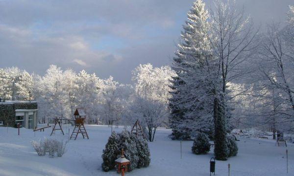 Hunguest Grandhotel Galya - Galyatető - A hotel parkja télen