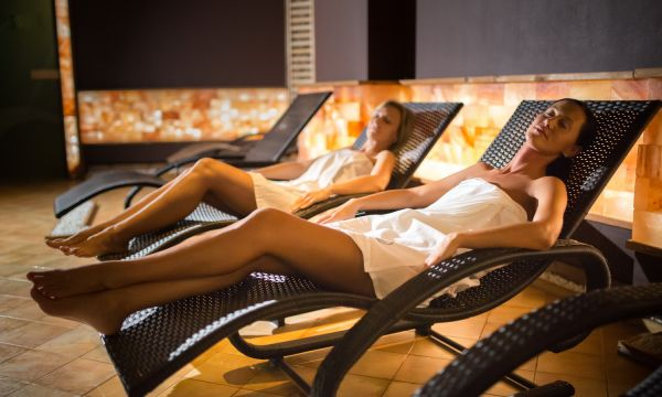 Hotel Karos Spa - Zalakaros - Sótéglás szauna pihenőtér