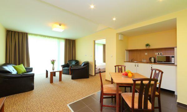 Hotel Margaréta - Balatonfüred - Deluxe lakosztály konyha/nappali